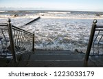 descent to the baltic sea by... | Shutterstock . vector #1223033179