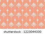 flower geometric pattern.... | Shutterstock .eps vector #1223044330