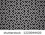 abstract geometric pattern. a... | Shutterstock .eps vector #1223044420