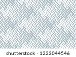 abstract geometric pattern.... | Shutterstock .eps vector #1223044546