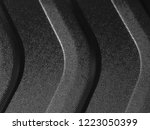 structured plastic panel with... | Shutterstock . vector #1223050399