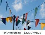 Circus Little Flags. Fair Flags