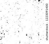 grunge dark corner messy... | Shutterstock .eps vector #1223091400