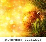 Image Of Christmas Tree Branch...
