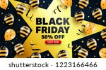 black friday sale promotion... | Shutterstock .eps vector #1223166466