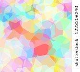 seamless pattern. rainbow...   Shutterstock . vector #1223206240