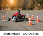 karting competitions  a karting ... | Shutterstock . vector #1223235283