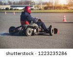 go kart competitions  go kart...   Shutterstock . vector #1223235286