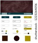 dark multicolor vector style...