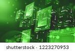 blockchain technology....   Shutterstock . vector #1223270953