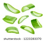 Aloe Vera Isolated On A White...