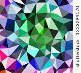 abstract background multicolor... | Shutterstock . vector #1223294170