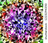 abstract background multicolor... | Shutterstock . vector #1223294350