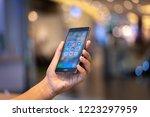 chiang mai  thailand   oct. 28... | Shutterstock . vector #1223297959