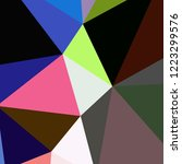 abstract background multicolor... | Shutterstock . vector #1223299576