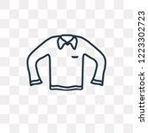 long sleeves t shirt vector...   Shutterstock .eps vector #1223302723