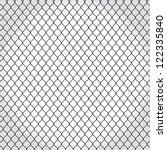 Wired Fence   Illustartion