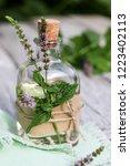 Bottle Of Mint Oil