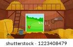 vector illustration of  inside... | Shutterstock .eps vector #1223408479