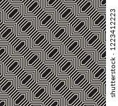 vector seamless pattern. modern ... | Shutterstock .eps vector #1223412223