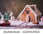 Homemade Gingerbread House....