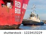 port of amsterdam  noord...   Shutterstock . vector #1223415229