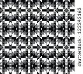 Abstract Kaleidoscopic Mosaic...