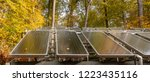 Solar Panels Surrounded By An...