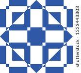 geometric seamless pattern ...   Shutterstock .eps vector #1223443303