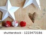christmas gifts  greeting...   Shutterstock . vector #1223473186