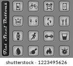 monitoring apps vector web... | Shutterstock .eps vector #1223495626