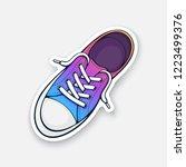 vector illustration. one... | Shutterstock .eps vector #1223499376