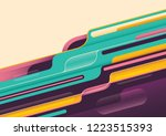 modish style abstraction in... | Shutterstock .eps vector #1223515393