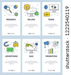 vector set of mobile app...