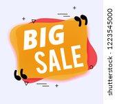 big sale template modern design | Shutterstock .eps vector #1223545000