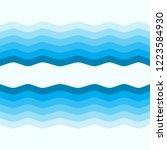 waves sea  abstract sea aqua ... | Shutterstock .eps vector #1223584930