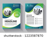 brochure template layout  cover ... | Shutterstock .eps vector #1223587870