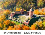 amazing aerial view over the... | Shutterstock . vector #1223594503