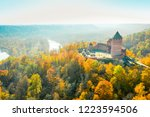 amazing aerial view over the... | Shutterstock . vector #1223594506