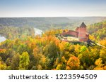 amazing aerial view over the... | Shutterstock . vector #1223594509