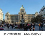 prague  czech republic  ... | Shutterstock . vector #1223600929