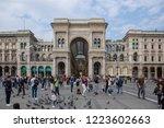 milan italy 12 october 2018 ... | Shutterstock . vector #1223602663