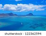 aerial mauritius | Shutterstock . vector #122362594