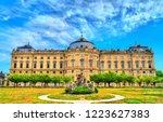 the wurzburg residence  unesco... | Shutterstock . vector #1223627383