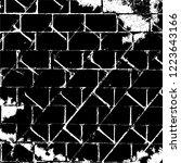 grunge background black and... | Shutterstock .eps vector #1223643166
