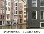 view of the old historical... | Shutterstock . vector #1223645299