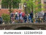 amsterdam  netherlands   june... | Shutterstock . vector #1223645410