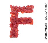 brain alphabet isolated on... | Shutterstock . vector #1223646280