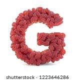 brain alphabet isolated on... | Shutterstock . vector #1223646286