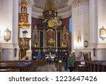 krakow  poland   january 01 ... | Shutterstock . vector #1223647426